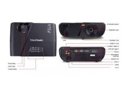ViewSonic PJD5254 3300 Lumen XGA DLP Projector