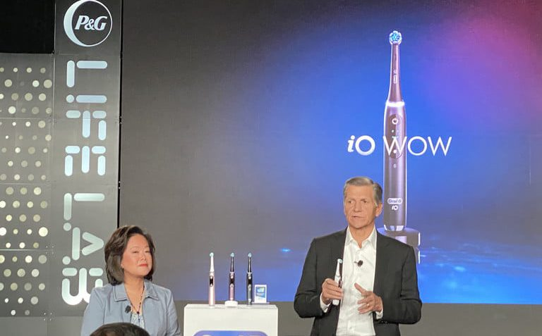 High-tech toothbrushes and digital diapers: P&G brings innovation to CES 2020