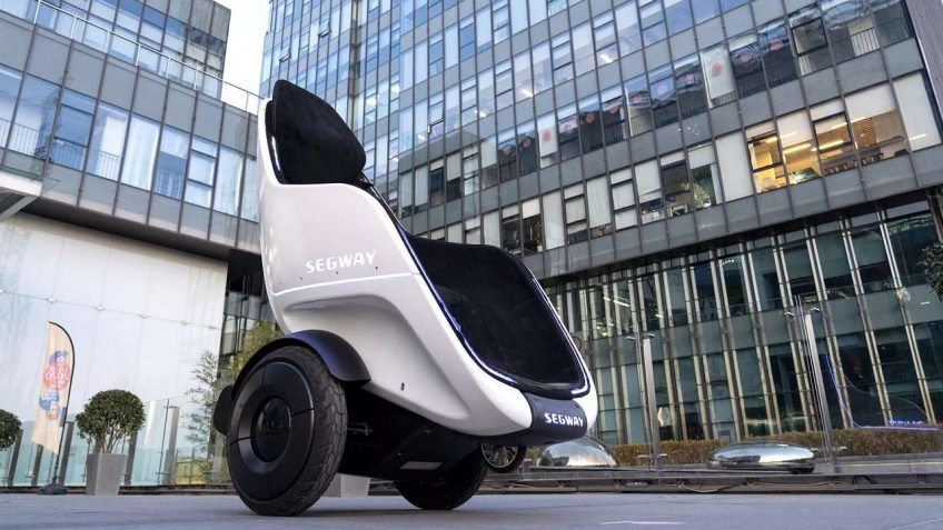 SEGWAY PLANS ON INTRODUCING A 'SELF-BALANCING' ELECTRIC VEHICLE THAT LOOKS LIKE A CHAIR AT CES 2020