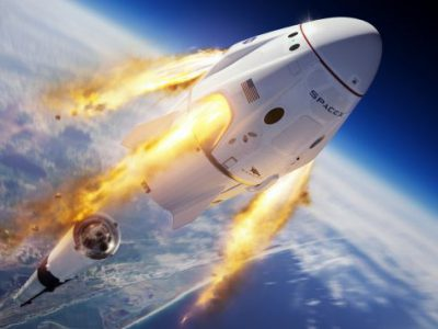 SpaceX delays its in-flight abort test until Sunday morning due to rough seas